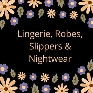 Lingerie, Robes, Loungewear, Slippers